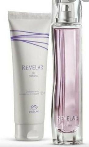 Promoção de natal kit perfume e Hidratante revelar tradicional feminino natura
