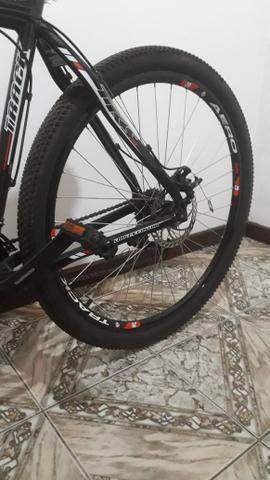 Vendo bicicleta semi nova - Foto 2