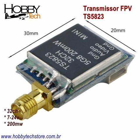 Transmissor Fpv 5.8g 32ch 200mw - Foto 3