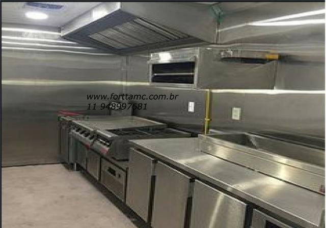 Food truck peças sob medida em inox - Foto 5