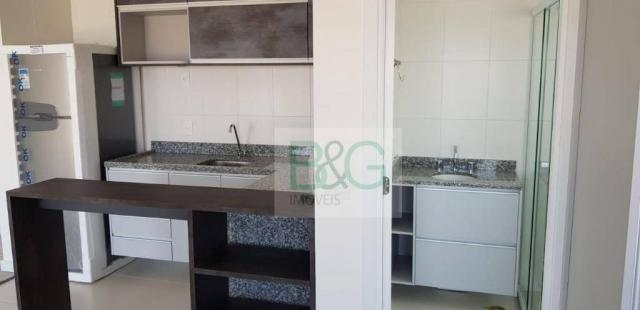 Studio com 1 dormitório para alugar, 34 m² por r$ 2.101,00/mês - ipiranga - são paulo/sp - Foto 18
