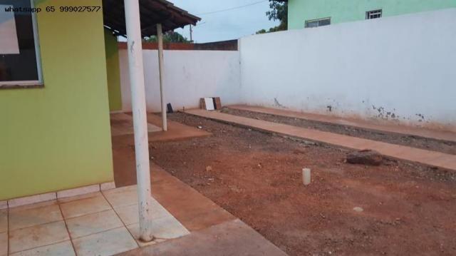 Casa para venda em várzea grande, paiaguas, 2 dormitórios, 1 banheiro, 2 vagas - Foto 9