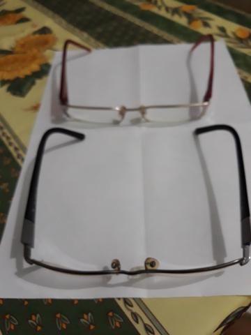 Vendo duas armações de óculos de grau - Foto 4