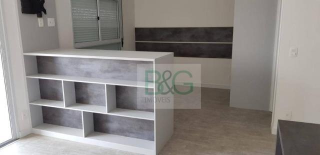 Studio com 1 dormitório para alugar, 34 m² por r$ 2.101,00/mês - ipiranga - são paulo/sp - Foto 9