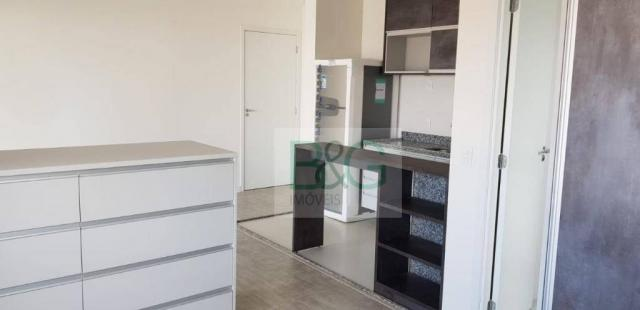 Studio com 1 dormitório para alugar, 34 m² por r$ 2.101,00/mês - ipiranga - são paulo/sp - Foto 15
