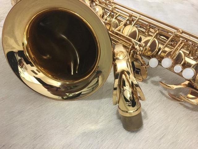 Sax Tenor Yamaha Yts-62 Conservadíssimo Baixei Essa Semana - Foto 4