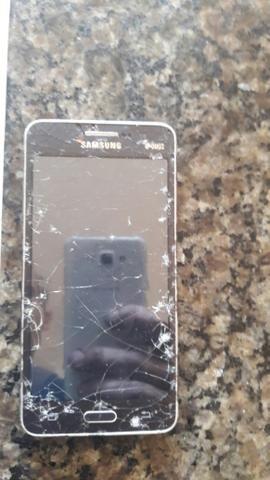 Samsung gran pprine duos tela trincada funcionando - Foto 2