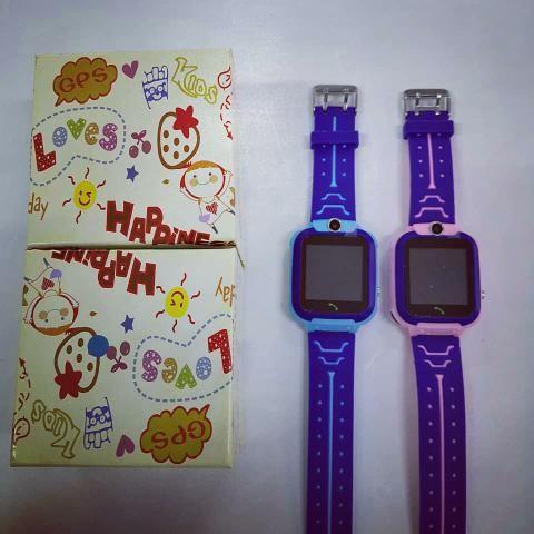 Relógio infantil GPS