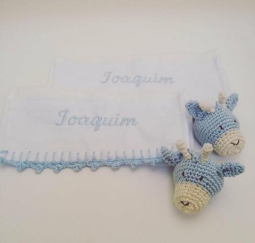 Fraldas Crochê Personalizada - Foto 4