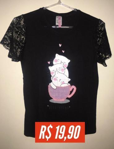 T-shirt Estampada - Foto 3