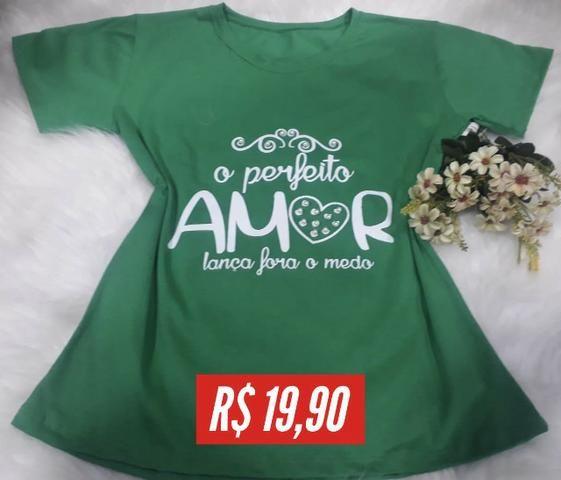 T-shirt Estampada - Foto 6