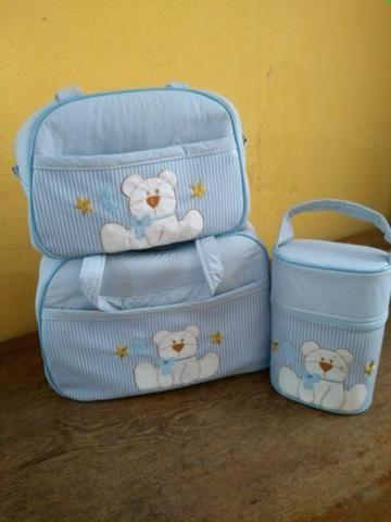 Bolsas e banheira masculina para bebê - Foto 2