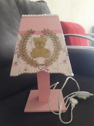 Kit Higiene bebê ursinha princesa Mdf com 6 peças - Foto 3