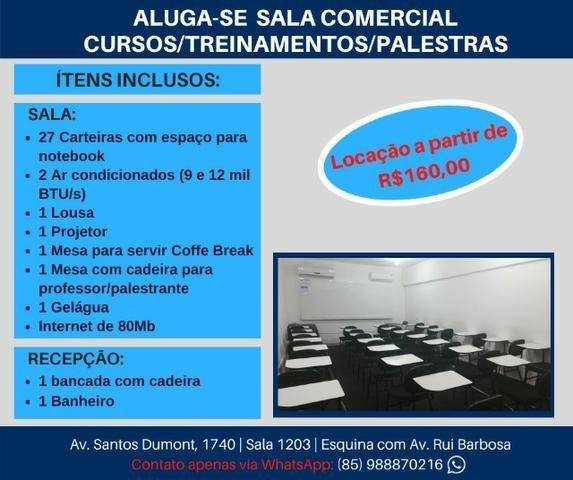 Sala Comercial Completa para Treinamentos e Palestras - Foto 2