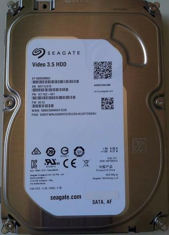Hd 1 TB Terabyte Seagate pra Dvr Video Pc Desktop