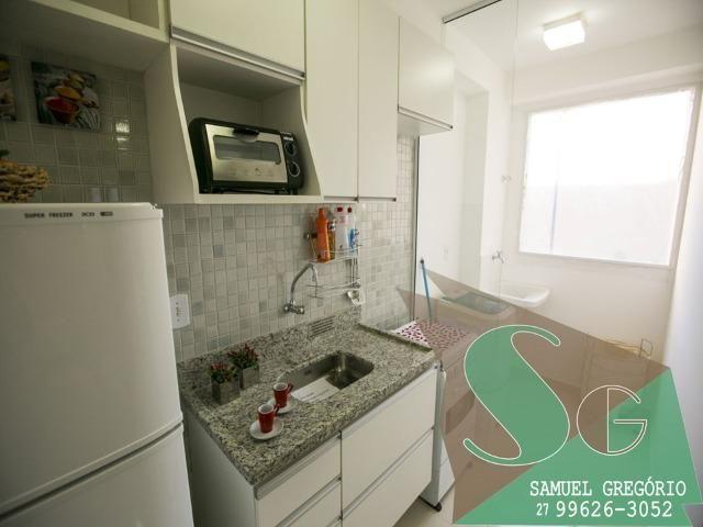 SAM - 66 - Via Sol - 2 quartos - 48m² - Morada de Laranjeiras - Serra, ES - Foto 2