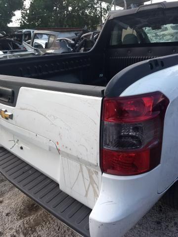 Gm Montana 1 4 Ano 2018 Sucata Somente Pecas Carros Vans E