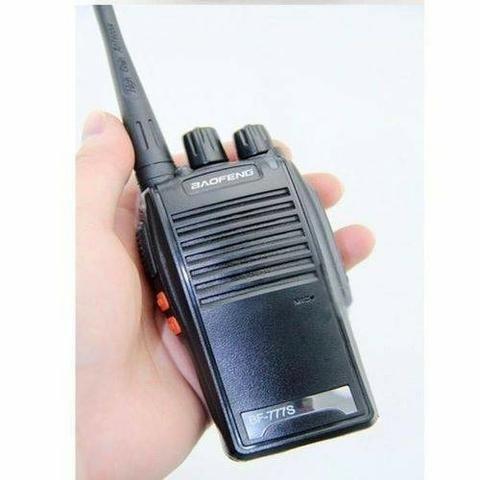 Kit 2 Radio Comunicador Walk Talk Baofeng 777s Profissional - Foto 3