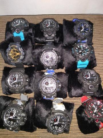 447f1710f0c Relógios Casio G-shock prova da agua - Bijouterias
