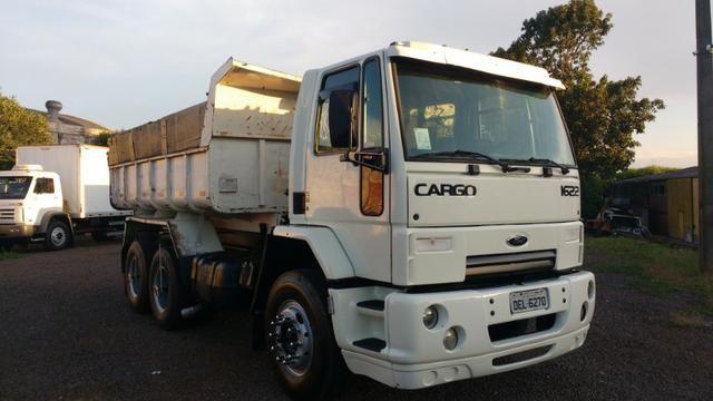 Ford Cargo 1622 truck 6x2 com caçamba Rosseti 10m3 unico dono - Foto 19
