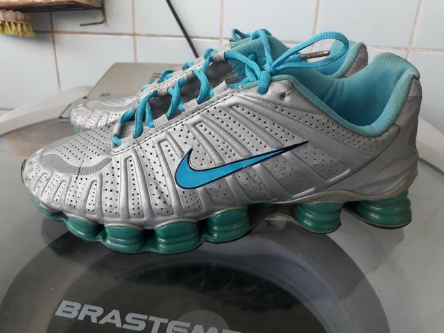 2f7b8df668f Nike shox 12 molas semi novo 6x sem juros no cartão - Roupas e ...