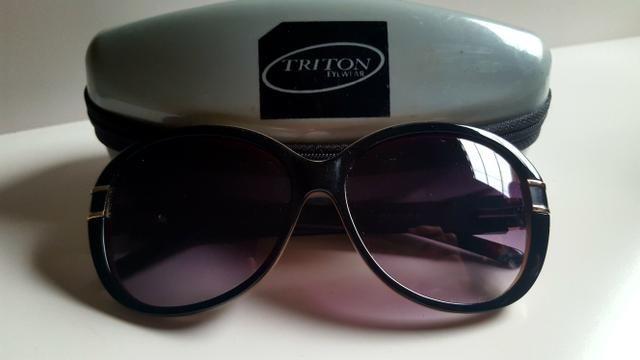 1ef48ebb2 Óculos escuros feminino marca Triton Original - (Usado ...
