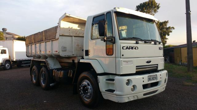 Ford Cargo 1622 truck 6x2 com caçamba Rosseti 10m3 unico dono - Foto 4
