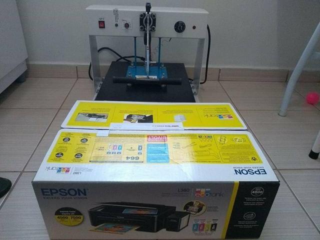 ea16fc692 Máquina de Estampar Compacta Print ? - Equipamentos e mobiliário ...