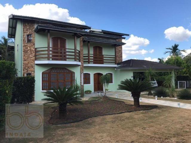 Casa com 4 dormitórios para alugar, 578 m² por R$ 12.000,00/mês - Condomínio Helvetia Coun - Foto 17