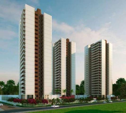Reserva das Palmeiras - Apartamento de 3 quartos com vaga na garagem em Fortaleza, CE