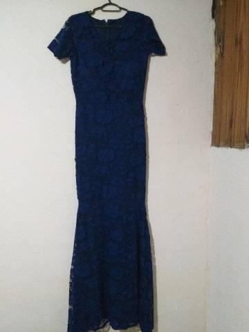 Vestido sereia usado 1 vez - Foto 4