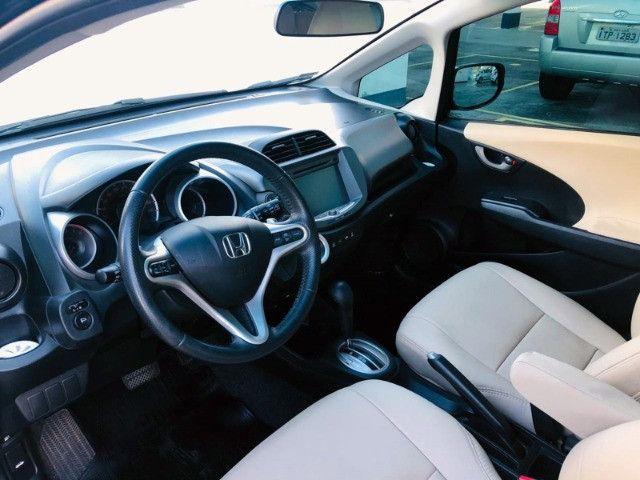 Honda Fit Ex 1.5 Automático - 2014 Com Couro - Foto 8