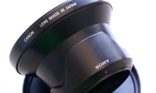 Lente super Wide Angle Canon