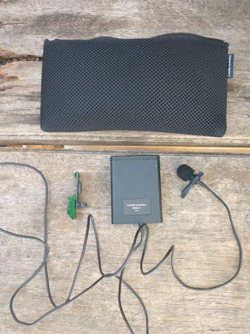 Microfone Condensador Cardioide Lapela Audio-technica