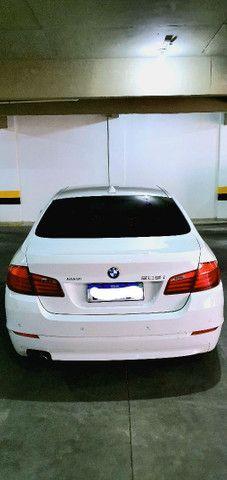 Torro! Ipva Pago!!! BMW 528I 2.0 Turbo - Top de Linha, 2013, interior Caramelo, 245 Cv - Foto 6