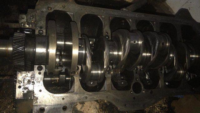 Bloco, eixo virabrequim, pistão, todas peças do motor 366