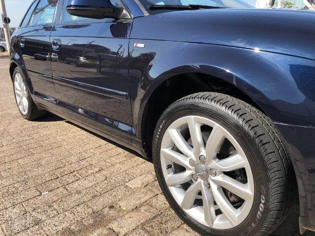 Audi A3 Sportback 2.0 Tfsi S-tronic ano: 2010 Top Blindado Impecavel - Foto 12