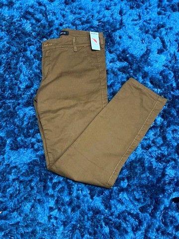 Calça Jeans masculina c/ lycra - Foto 6