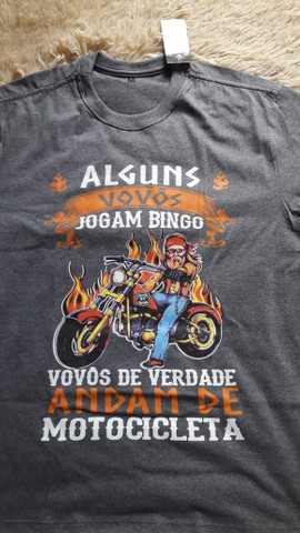 Camisa divertida moto motociclista  - Foto 2