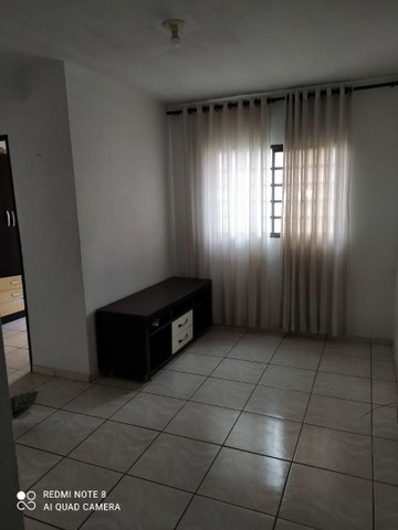 Alugo apartamento semi mobiliado