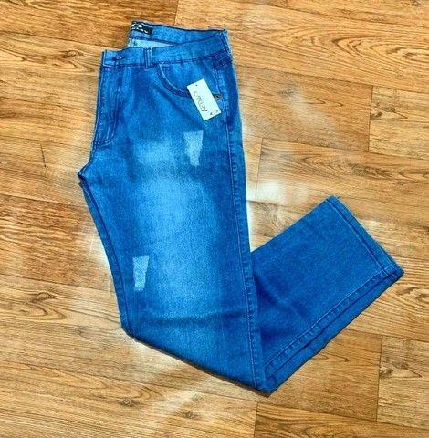 Calça Jeans masculina c/ lycra - Foto 2