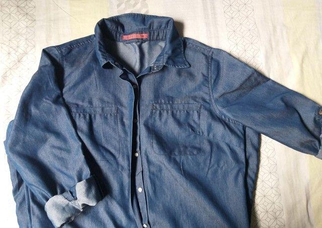Macaquinho Jeans 46 - Foto 2