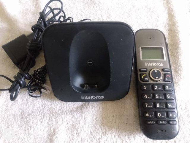 Telefone Sem Fio Intelbras Com Viva Voz E Id Ts5120 - Foto 5
