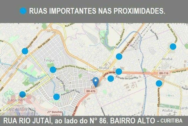 VENDO-TERRENO-MIL-METROS-QUADRADOS-RUA-RIO-JUTAI-BAIRRO-ALTO-CURITIBA - Foto 3