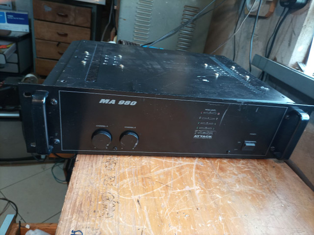 Amplificador de potência attack - Foto 2