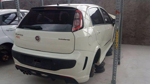 Peças usadas Fiat Punto BlackMotion 2015 aut
