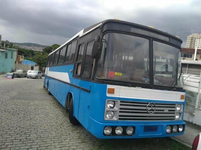 Ônibus 1983 mercedes 45 lugares motor show - Foto 4