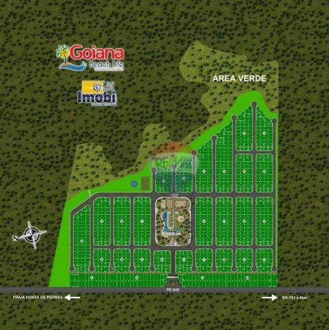 Terreno à venda em Pontas de pedra, Goiana cod:TE0021 - Foto 3