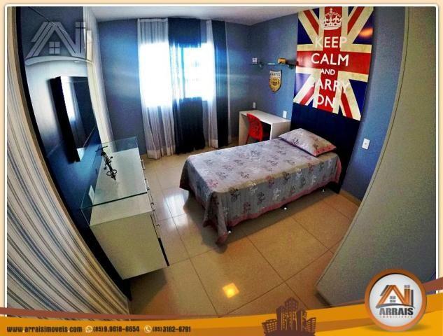 Vendo casa duplex em condomínio c/ 3 suítes no Eusébio - Foto 13