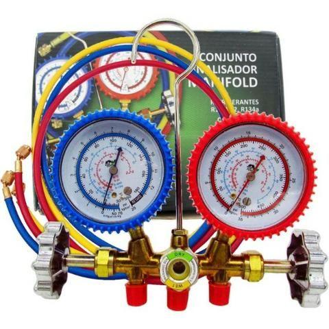 Manifold Ecotools Et636 Gas R12 R22 R404a R134a - Realengo